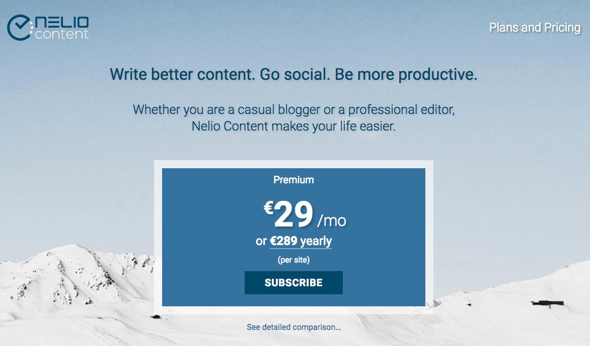 Nelio Content Premium