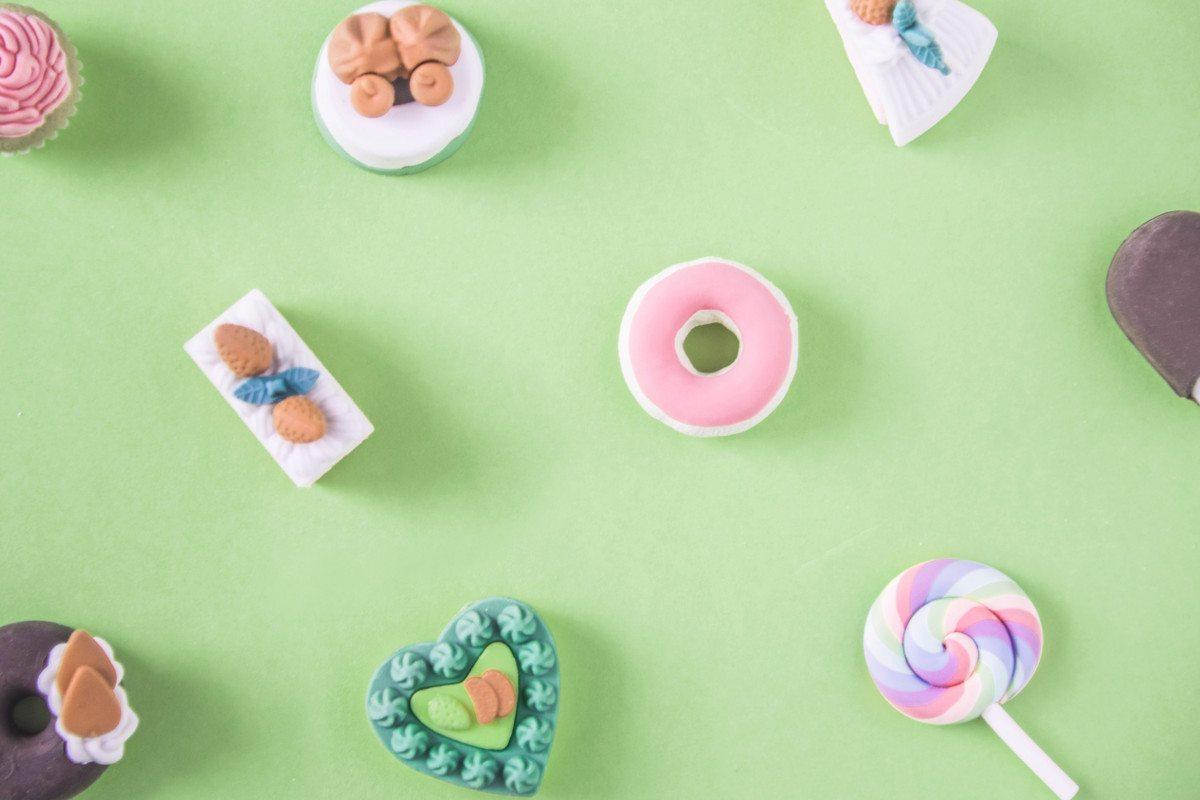 Dessert, cupcake, donut and icecream, by rawpixel