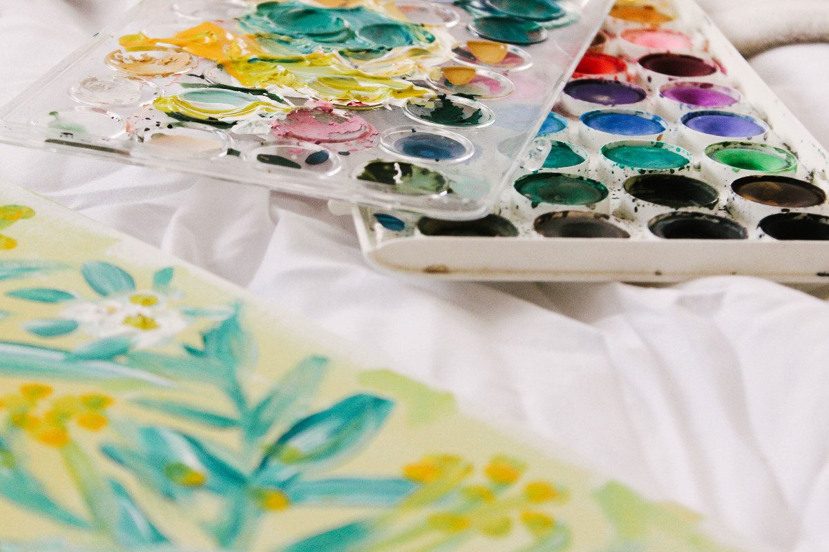 Watercolor Painter, by Victoria Bilsborough