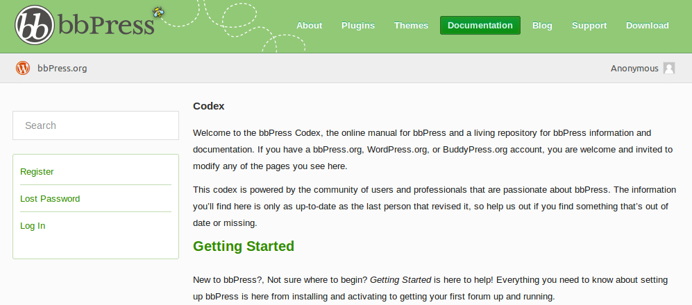 bbPress Docs Website