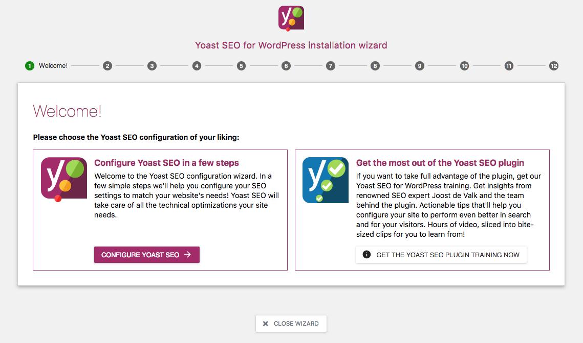 Welcome Yoast SEO plugin.