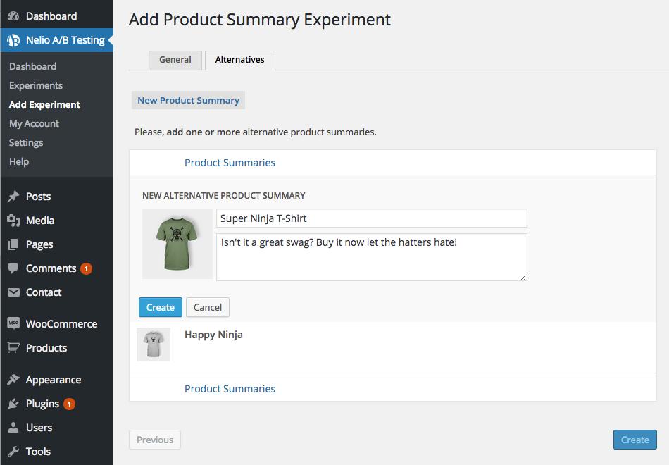 WooCommerce Product Summary Testing – Nelio A/B Testing