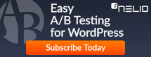 Nelio A/B Testing Banner (dimensions: 215 times 82 pixels)