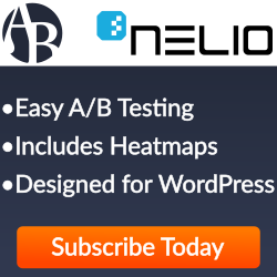 Nelio A/B Testing Banner (dimensions: 250 times 250 pixels)