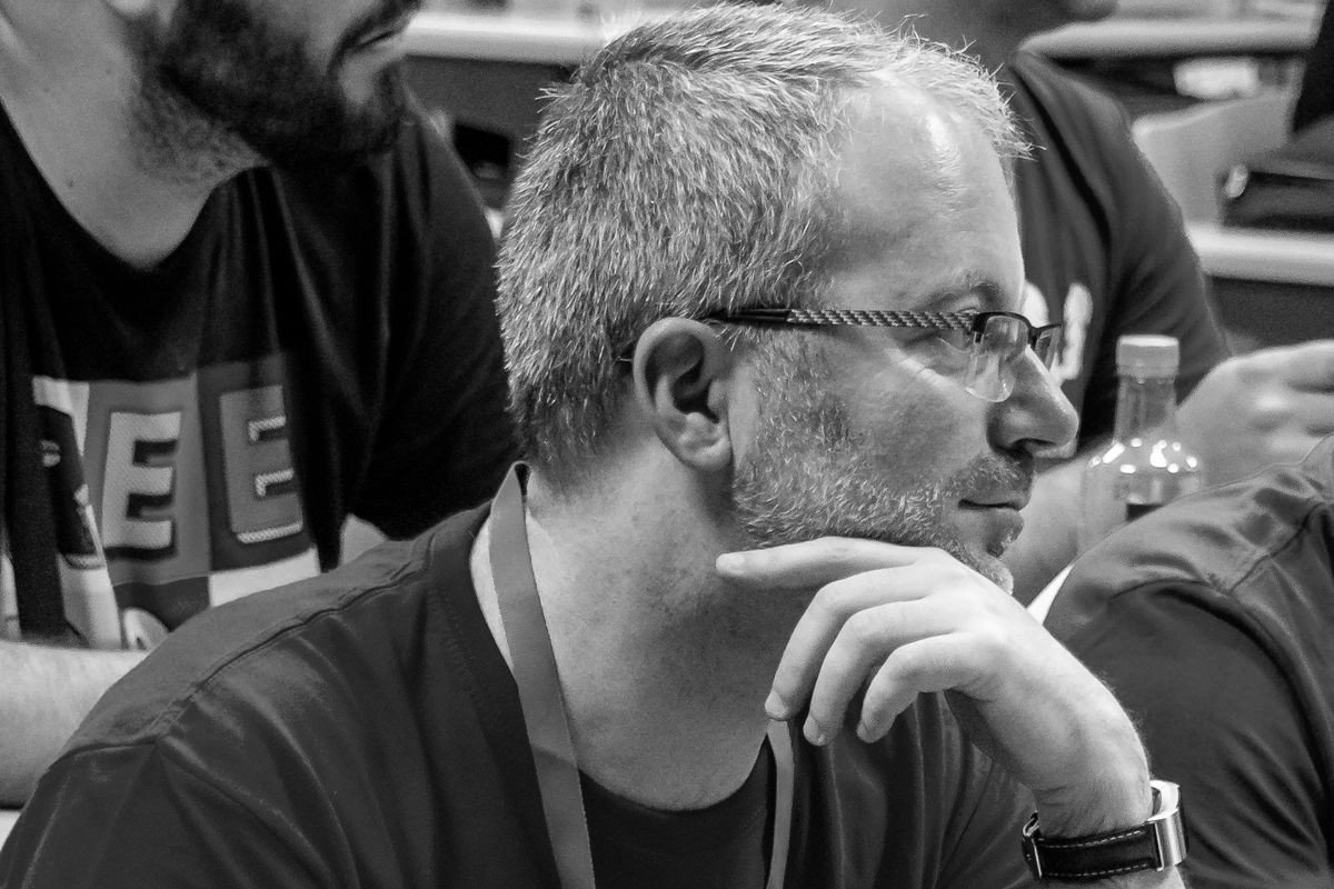 Carlos Longarela en la WordCamp Pontevedra 2018