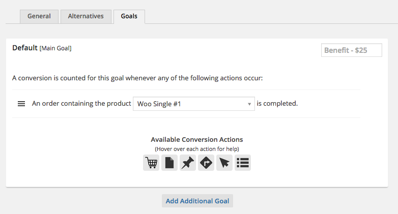 Conversion Goals and Conversion Actions