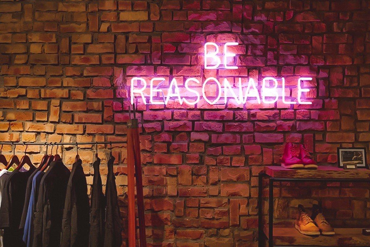 Be Reasonable, de Victor Garcia