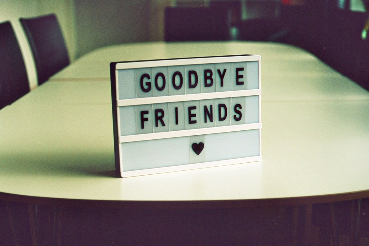 Goodbye Friends, de Jan Tinneberg