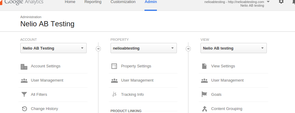 Google Analytics settings to exclude a parameter.