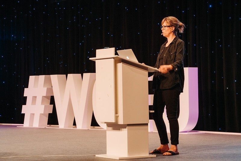 Jenny Beaumont at WordCamp Europe 2019
