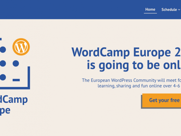 Read Getting Ready for WordCamp Europe 2020 Online