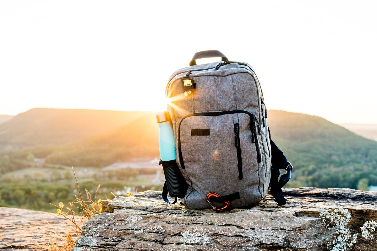 Picture of a backpack, by Josiah Weiss