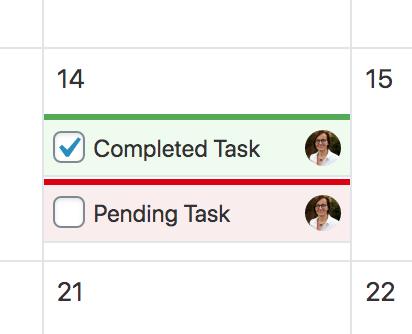 Editorial Tasks in Nelio's Editorial Calendar