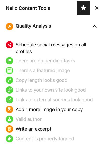 Post Quality Analysis